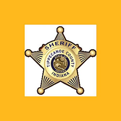Sheriff Badge on Gold Background with link to current inmate listing