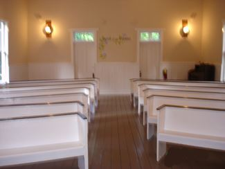 Pews Inside the Chapel