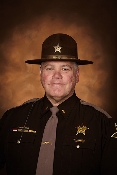 Head Shot of Captain John Rikcs Tippecanoe County Sheriff