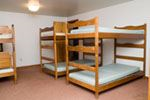 Bunkbeds in One of the Rooms